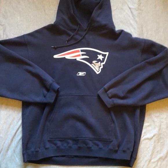 Reebok NFL New England Patriots Sweatshirt XL. M 5b36a3f7819e90c682422a13 cba679df8